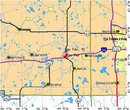 Paw Paw Michigan Map Paw Paw Michigan Mi 49079 Profile Population Maps Real Estate