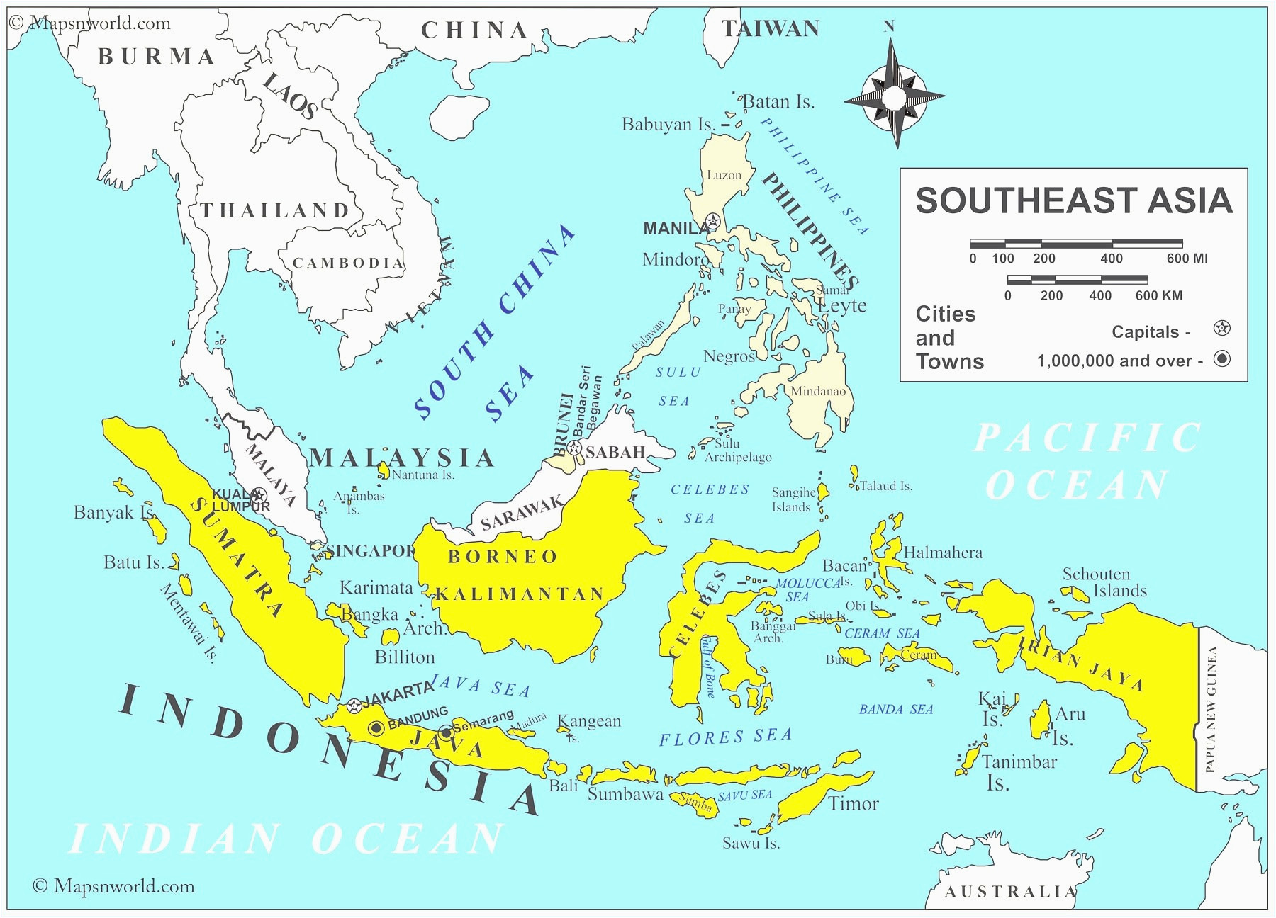 Map Quiz Of Southeast Asia