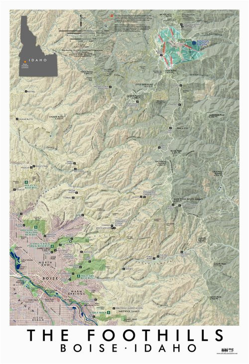 Portland oregon topographic Map Maps Mitchell Geography