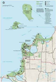 map of eastern upper peninsula of michigan trips in 2019 upper
