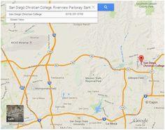 Santee California Map   secretmuseum
