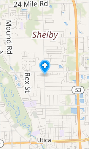 Shelby Township Michigan Map Secretmuseum