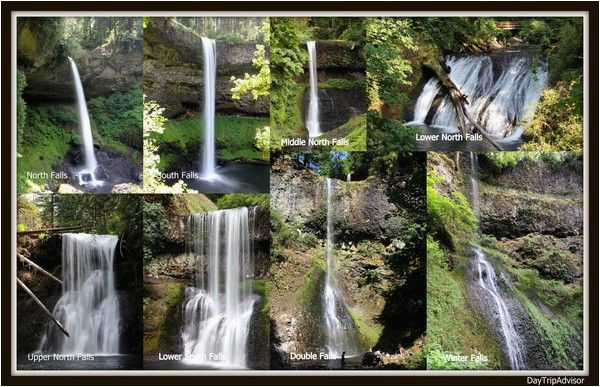 trail of ten falls silver falls state park oregon part time