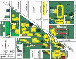 sou campus map park ideas