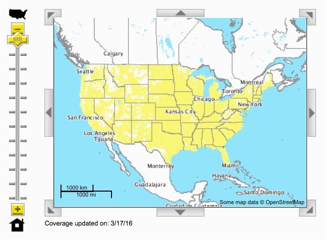 Sprint Coverage Map oregon | secretmuseum on