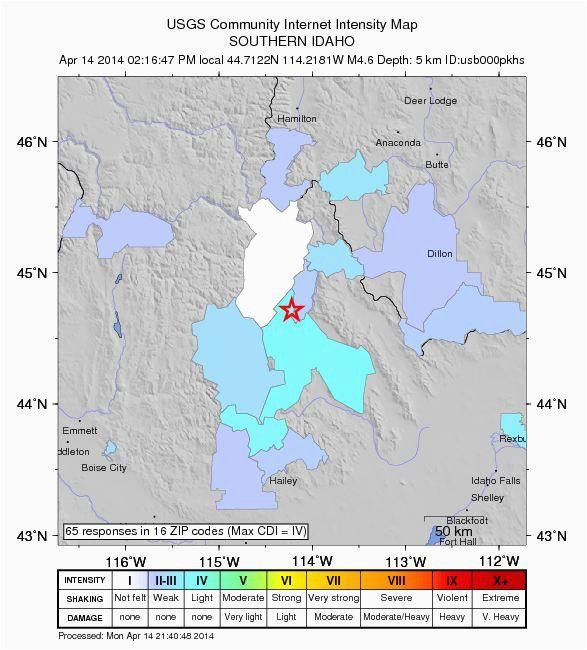 earthquake swarm continues to shake central idaho boise state