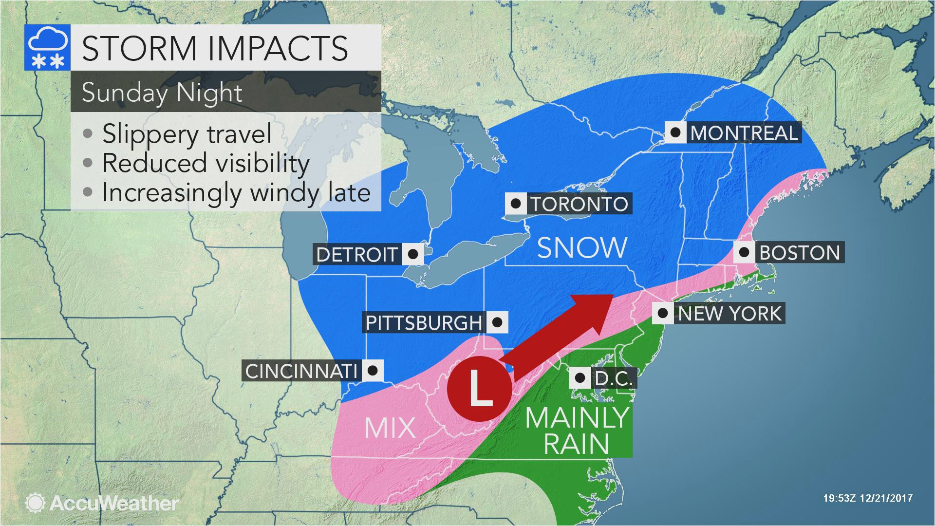Christmas Eve Weather 2019 Weather Map Dayton Ohio Christmas Eve Day Winter Storm to Snarl