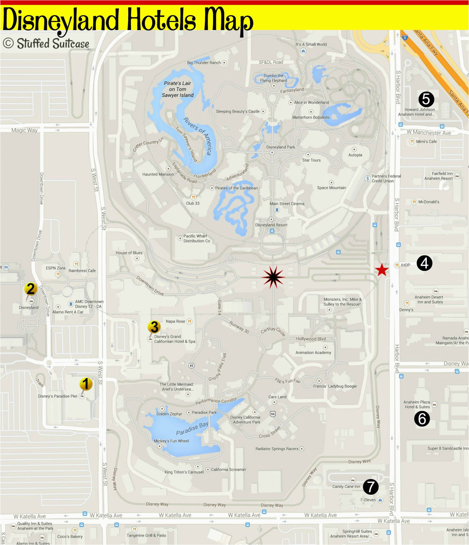 pictures of california map valid hotels by disneyland how to choose