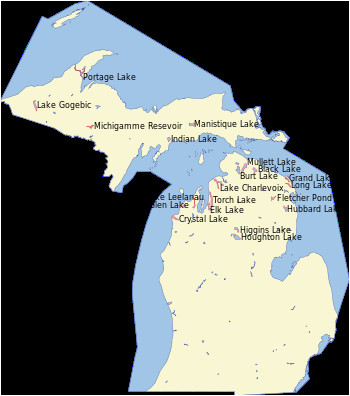 list of lakes of michigan revolvy
