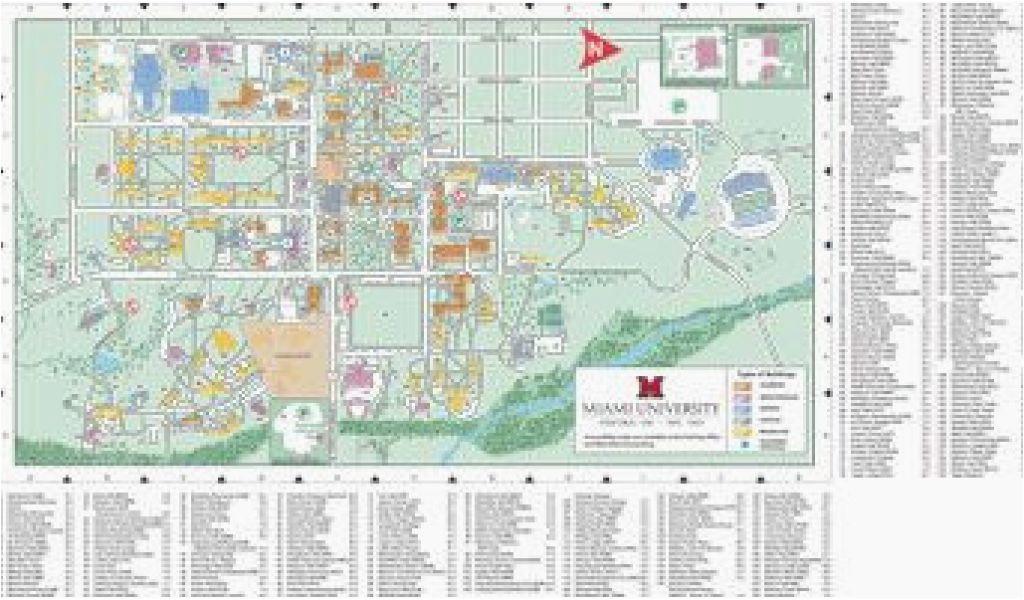 akron ohio maps oxford campus map miami university click to pdf