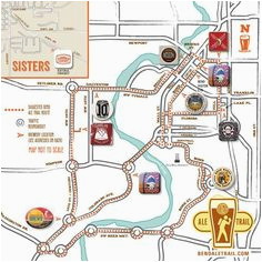Bend Oregon Breweries Map Secretmuseum