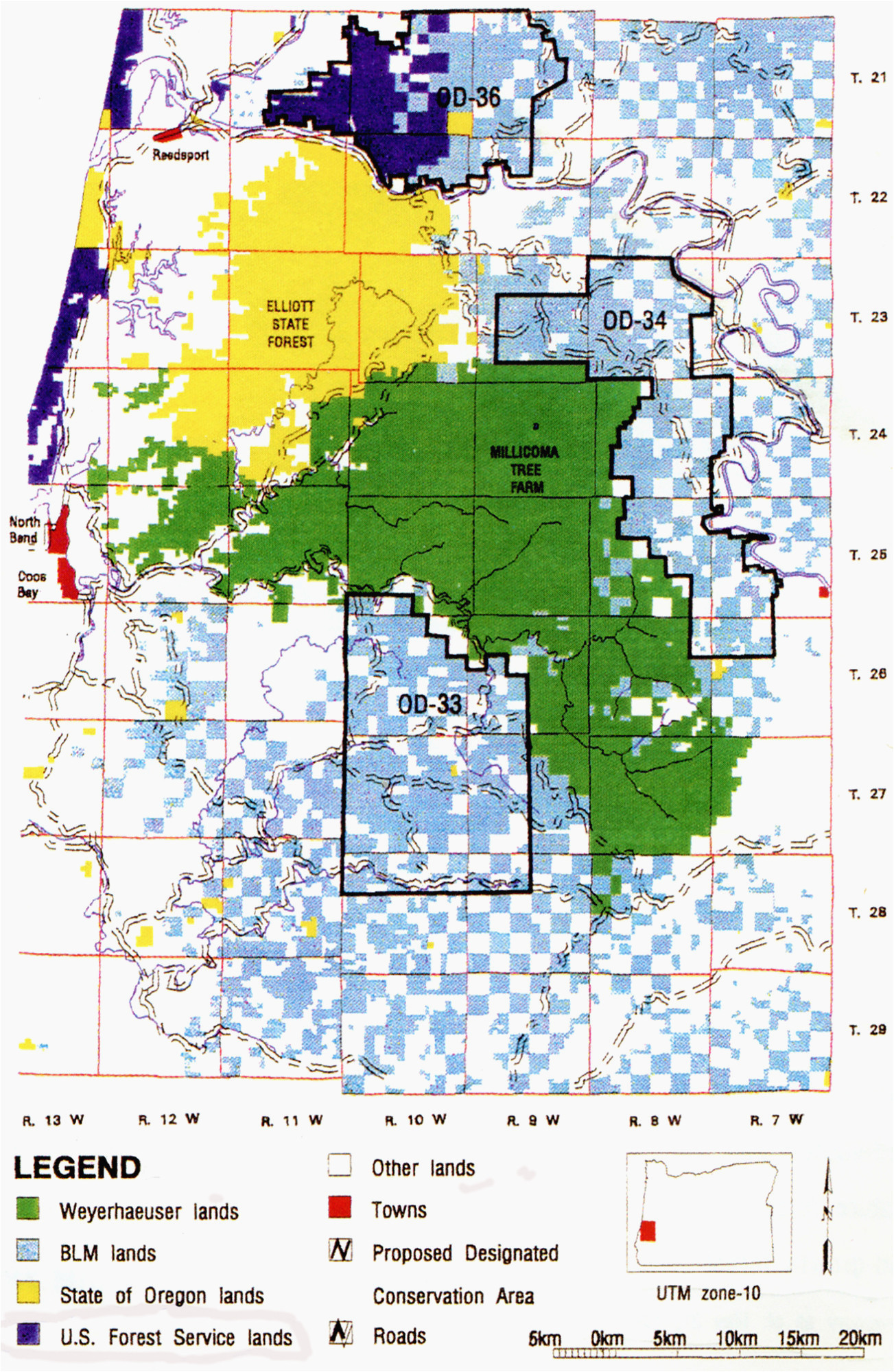 blm oregon map orww elliott state forest maps secretmuseum