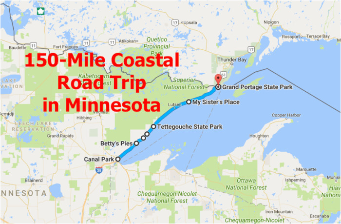 this 150 mile drive is the best way to see minnesota s stunning