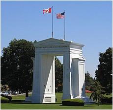 canada united states border wikipedia