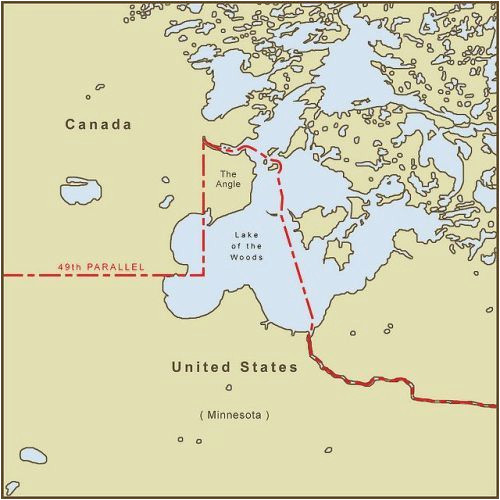 minnesota s northwest angle is only accessible by land if you
