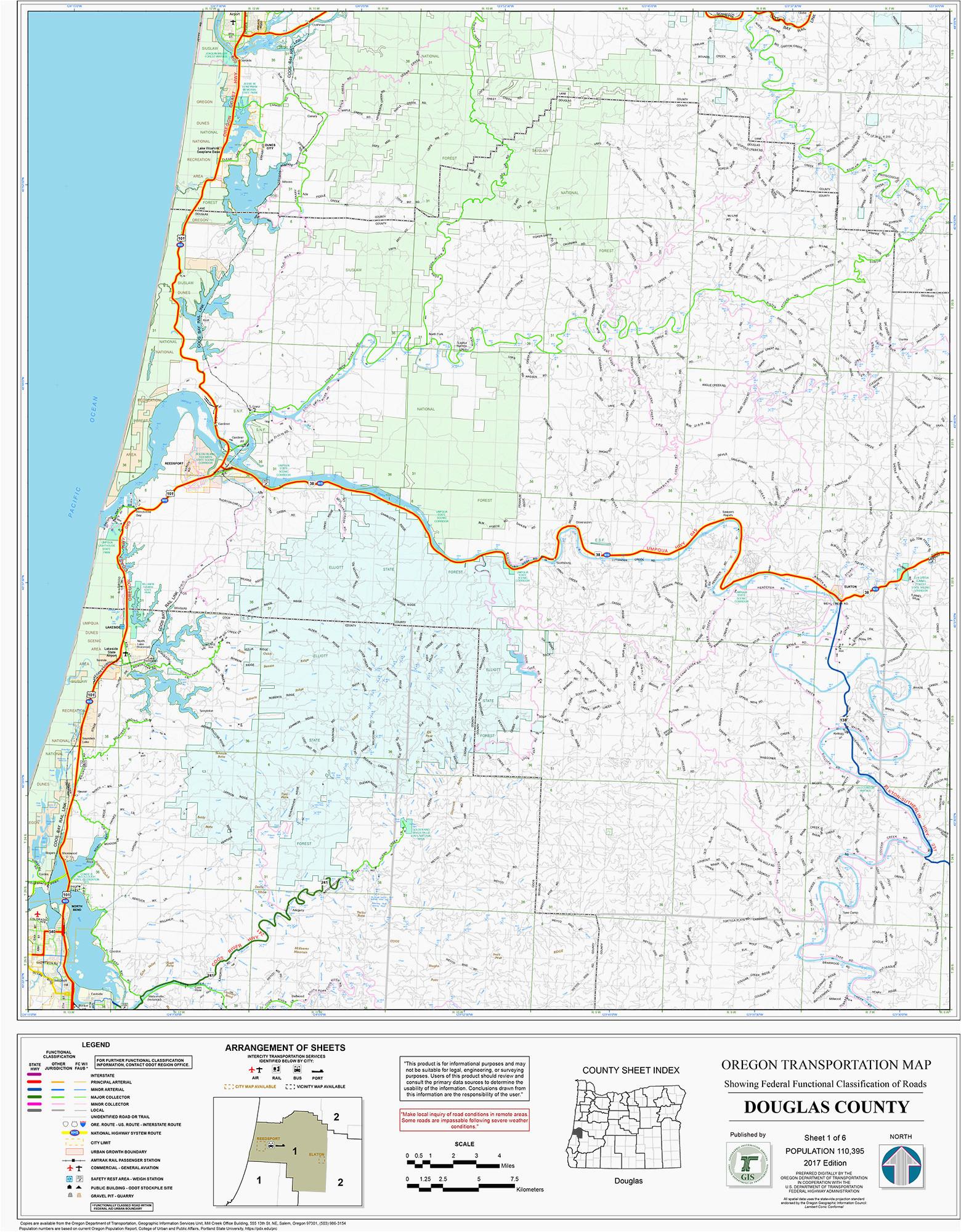 Central oregon Lakes Map Map Coos Bay oregon Secretmuseum