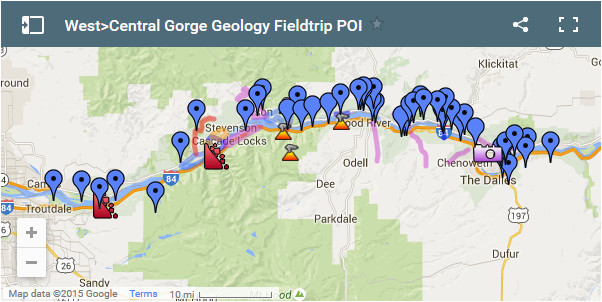 columbia gorge geology field trip ice age floods institute