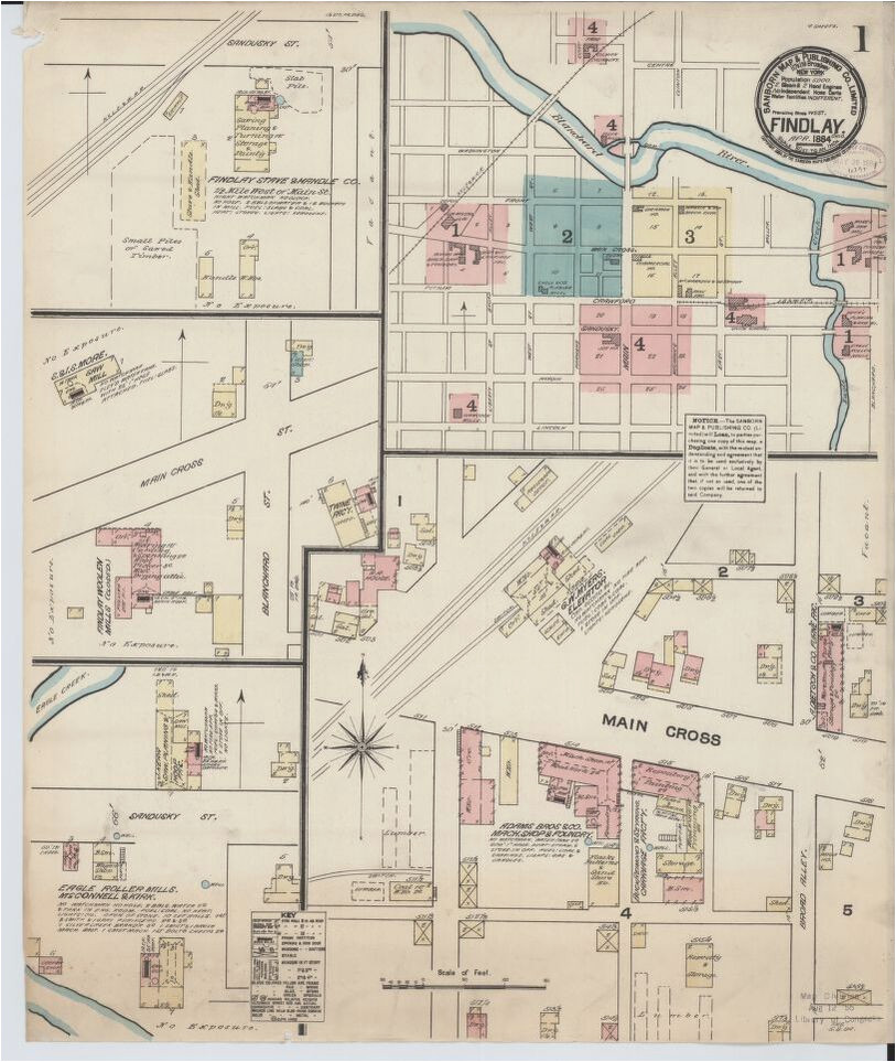 map 1800 to 1899 ohio library of congress