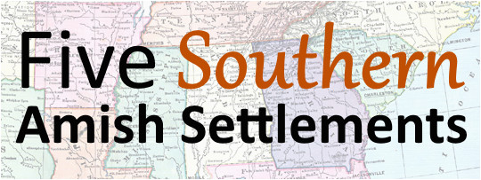 5 southern amish communities