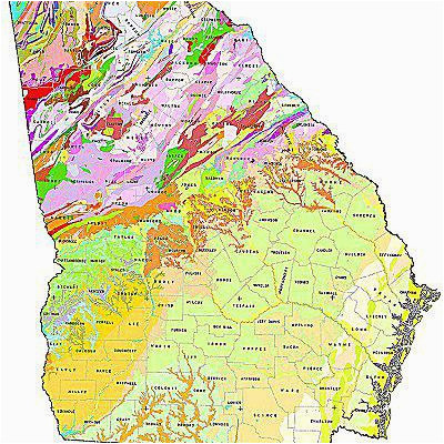 Geological Map Of Tennessee Geologic Maps Of the 50 United ...