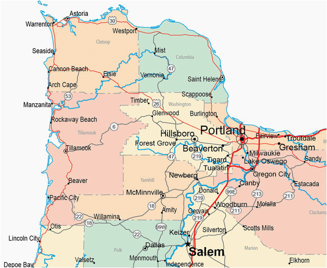 map of oregon towns secretmuseum