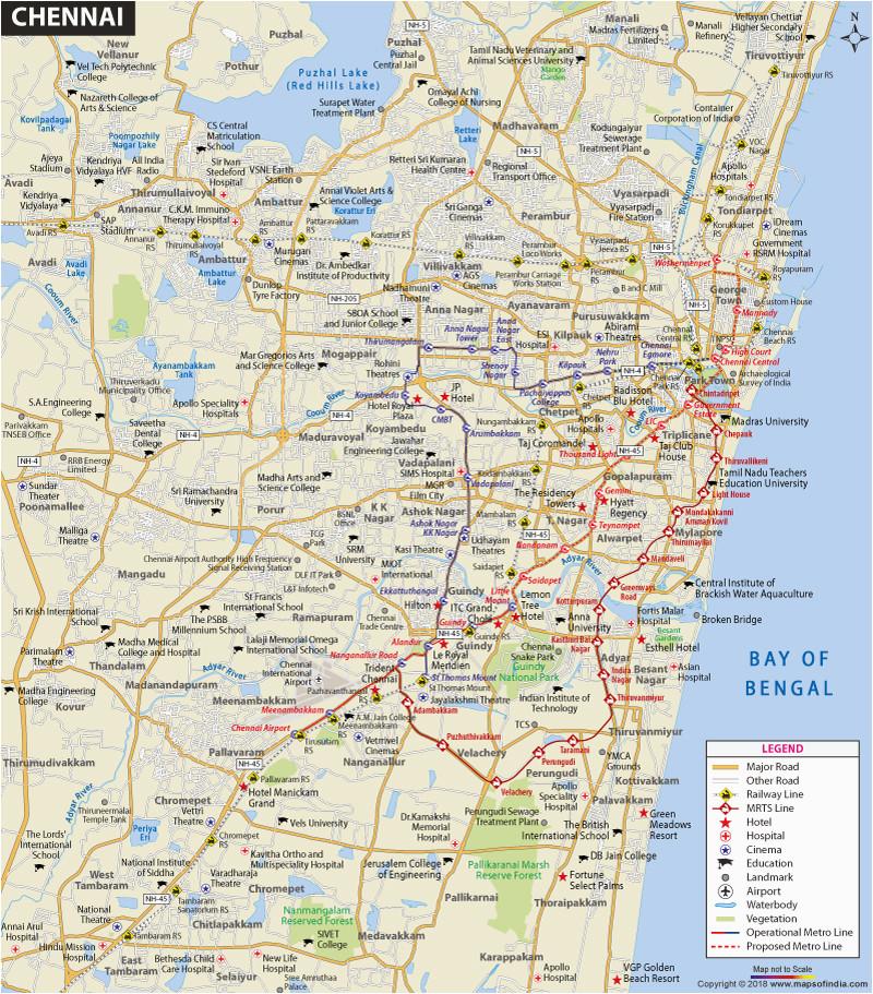 Google Maps Salem oregon Chennai City Map and Travel Information and ...