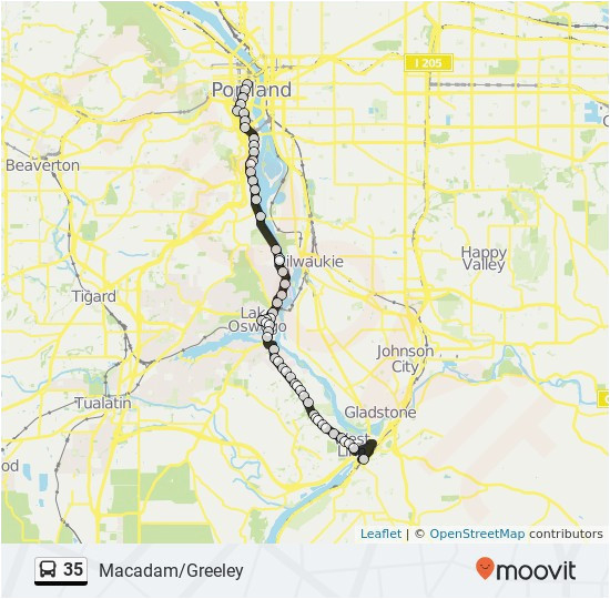 Happy Valley oregon Map Portland oregon Transit Map Secretmuseum