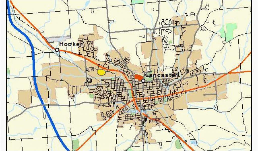 map of lancaster ohio lancaster ohio map bnhspine com secretmuseum