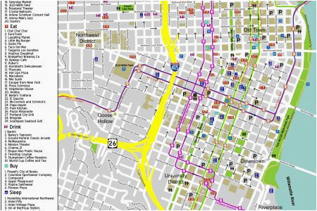 downtown bend oregon map secretmuseum
