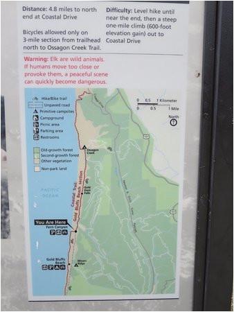 Map Brookings oregon I E I I I I Ea E Picture Of oregon Redwood Trail Brookings