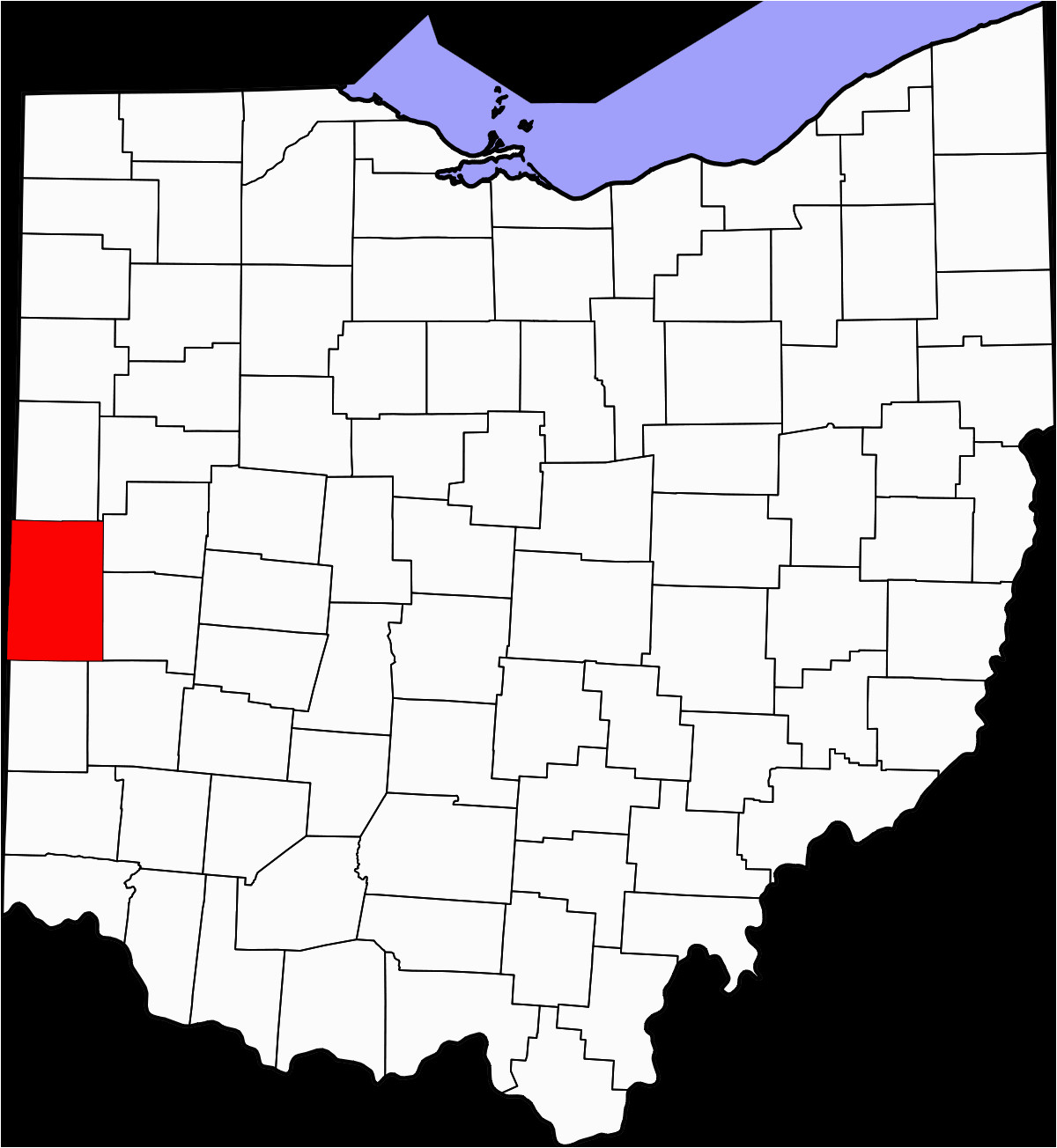 national register of historic places listings in darke county ohio
