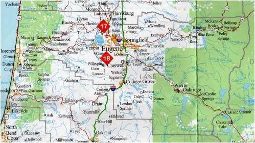 lane county oregon map of the lane county oregon springfield