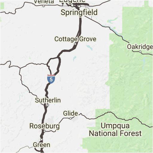 map of oakridge oregon secretmuseum