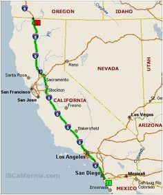map of i5 california secretmuseum
