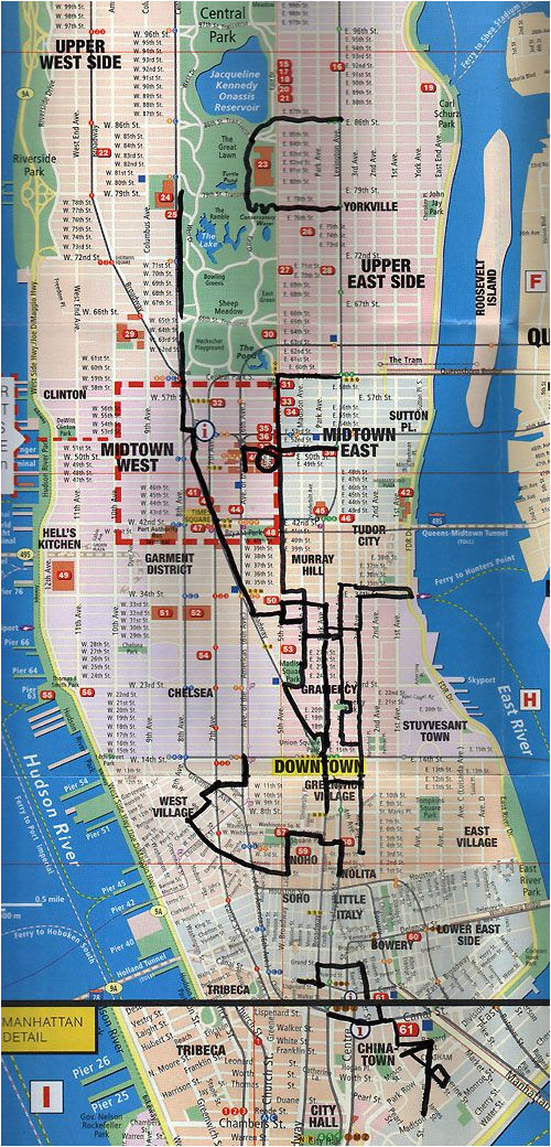 printable shopping map of new york city week of walking nyc nyc