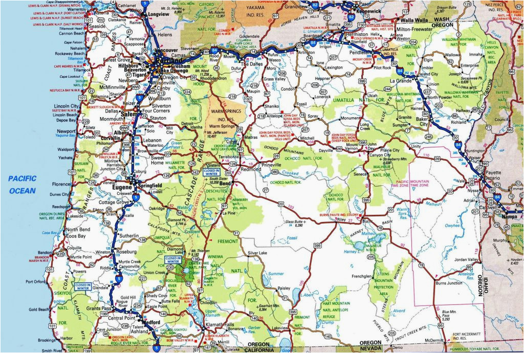 map lakeview oregon secretmuseum
