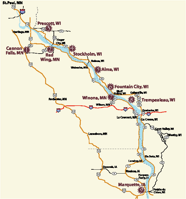 wi great river road wine trail 9 wineries travel wi