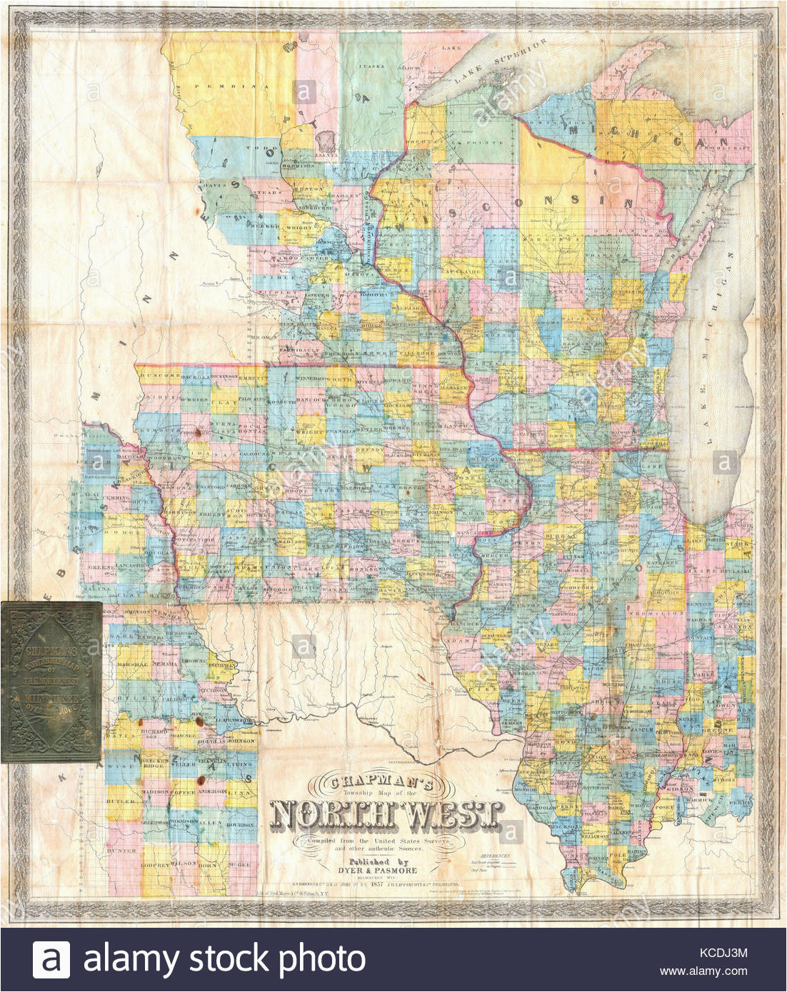 old map iowa stock photos old map iowa stock images alamy