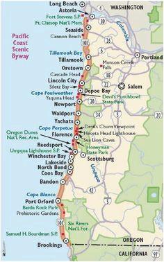 map of cannon beach oregon secretmuseum