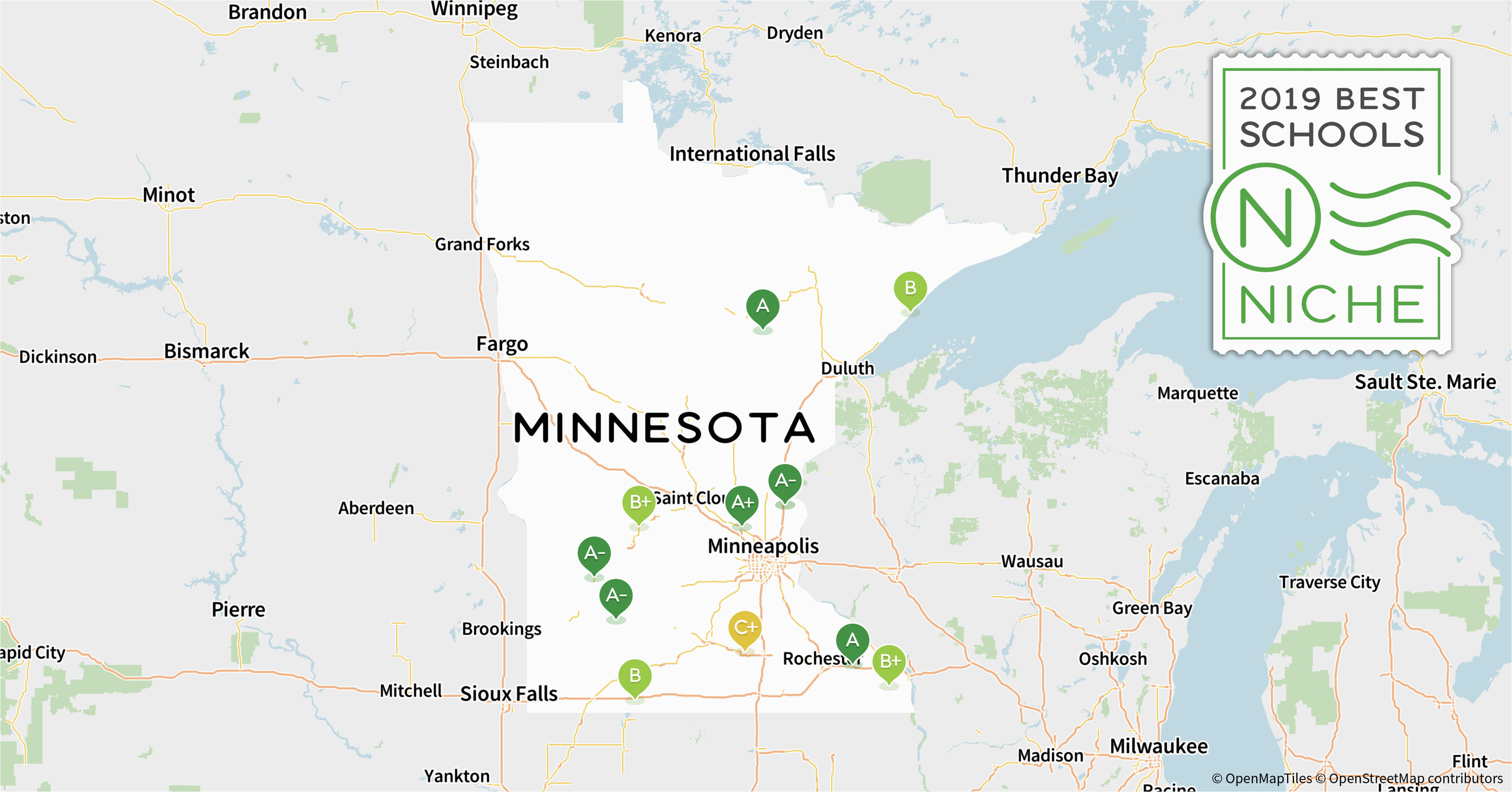 2019 best private high schools in minnesota niche