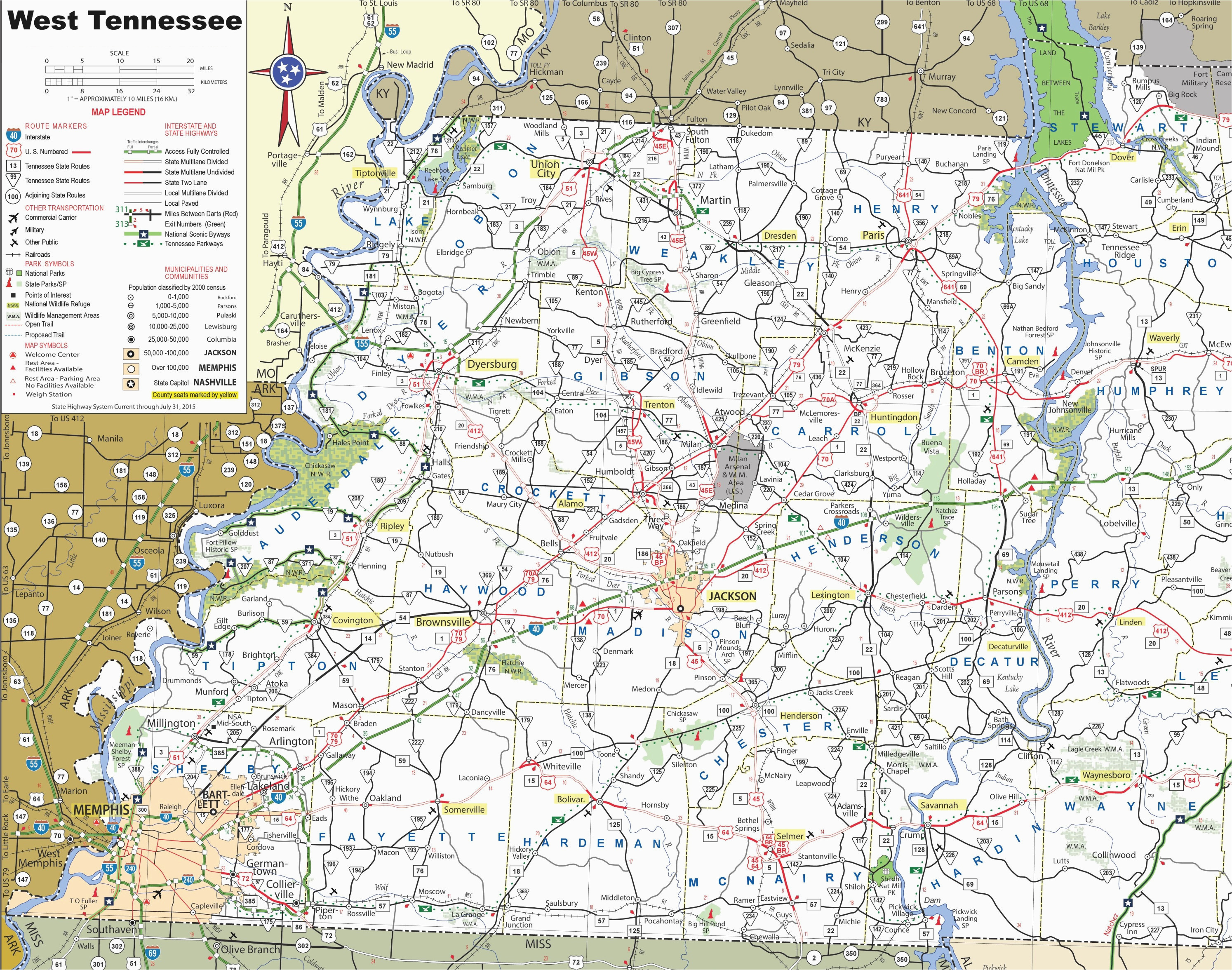 jackson tn map beautiful tennessee map major cities best map west