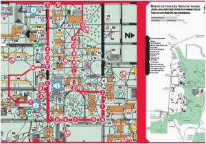 ohio colleges and universities map oxford campus maps miami
