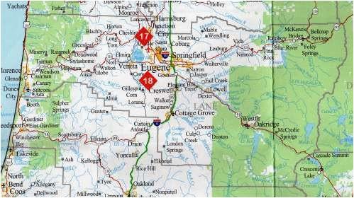 counties of oregon map secretmuseum