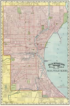 23 best vintage milwaukee maps images in 2019 milwaukee map maps