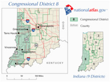 indiana s 8th congressional district wikipedia