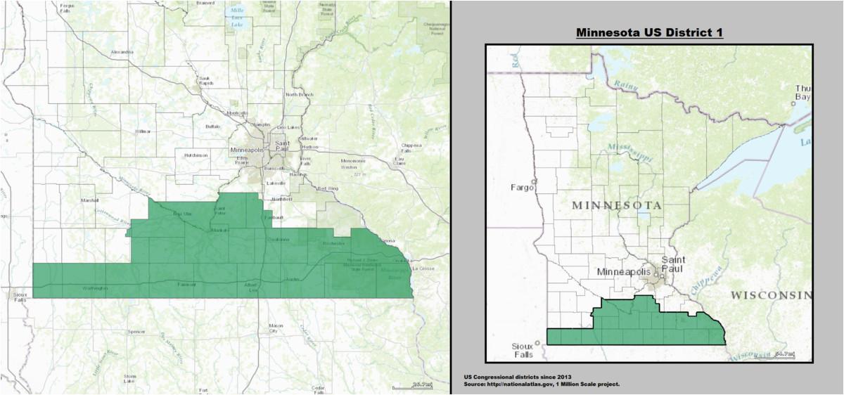minnesota s 1st congressional district wikipedia