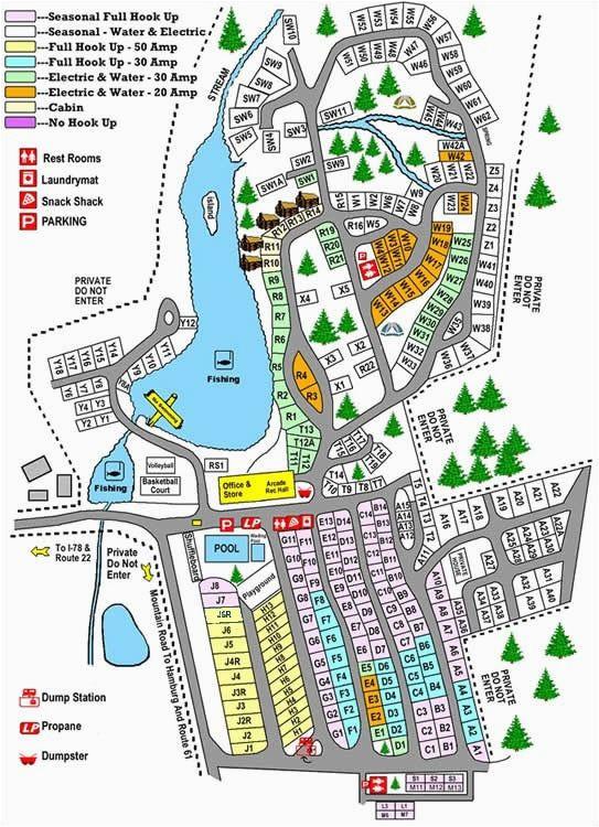 mountain springs camping resort shartlesville pa maps