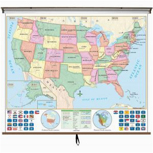 classroom maps elementary middle high school college map shop