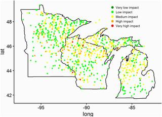 quantifying impacts of white tailed deer odocoileus virginianus