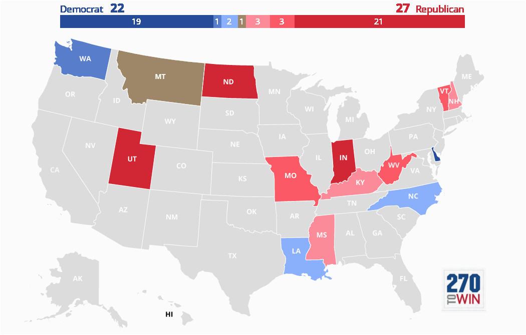 2020 governor election forecast maps